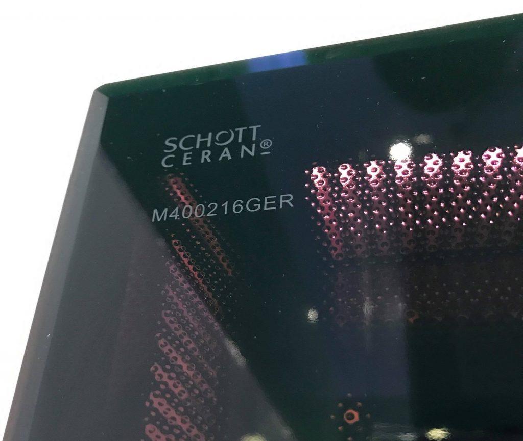 Hình ảnh mặt kính Schott Ceran