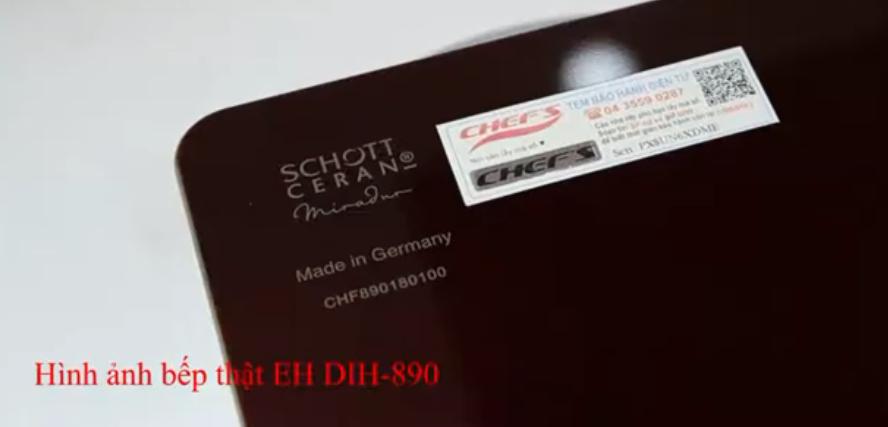 Mặt kính bếp từ Chefs EH-DIH890